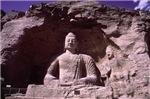 Stone Outdoor Meditating Budha