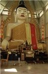 Budha W/ Gold Fingers