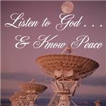 Listen to God. . .