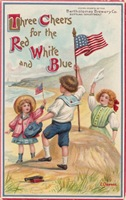 Three Cheers for the Red White and Blue