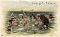 I am right in the swim