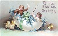 Kids in Big Egg