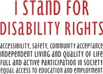 I Stand for Disability Rights