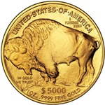 Buffalo Gold on White