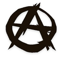 Anarchy-Black/White Women's Clothing