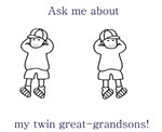 Great-Grandparent of Twins