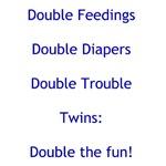 Double Trouble - Blue
