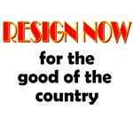 Resign Now for the Good of the Country
