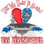 T-shirts, hats, mugs, stickers and gift items for USS Dwight D Eisenhower Family