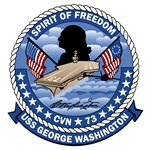 T-shirts, hats, stickers & gifts with the USS George Washington