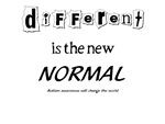 Different is the New Normal