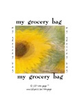 GROCERY BAG: SUNFLOWER