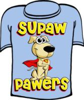 Supaw Pawers Super Dog