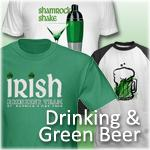 Drinking, Green Beer and Parties