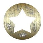 Gold Vintage Star