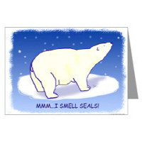 Polar Bear & Seal Holiday Cards
