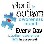 Autism April - School