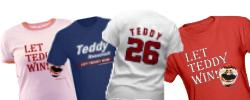 Adult Let Teddy Win! T-Shirts