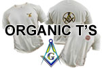 Organic Cotton Masonic T's