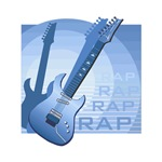 electric guitar rap