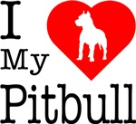 I Love My Pitbull Terrier