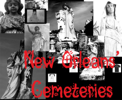 New Orleans Cemeteries *34 designs!