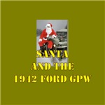 Santa and the 42 Ford GPW jeep