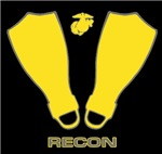 USMC RECON FINS T-Shirts & Gifts