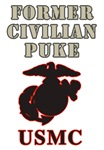 USMC FORMER CIVILIAN T-Shirts & Gifts