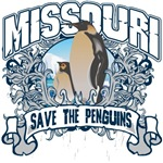 Save the Penguins Missouri T-Shirts and Gifts