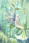Meditation Fairy Art Fantasy Art by Molly Harrison