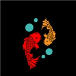 Lucky Koi Fish Design
