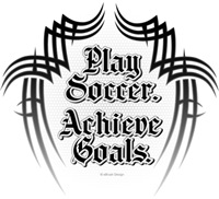 Achieve Goals. Play Soccer.