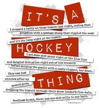 Hockey Slang