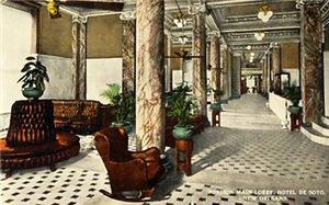 DeSoto Hotel (now Le Pavillon)