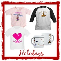 Holiday T-Shirts and Gifts