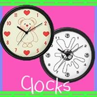 Kids Wall Clocks