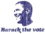 Barack the Vote (vintage blue)
