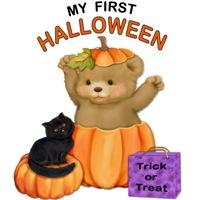 First Halloween Teddy