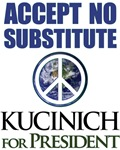 Accept None but Kucinich