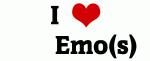 I Love        Emo(s)