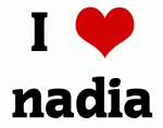I Love nadia