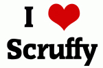 I Love Scruffy