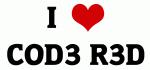 I Love COD3 R3D