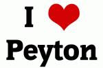 I Love Peyton