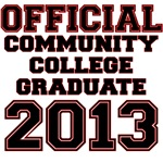 OFFICIAL COMMUNITY COLLEGE GRADUATE 2013