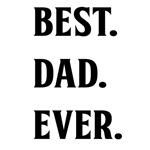 BEST. DAD. EVER. BLACK