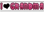 I LOVE (HEART) GRANDMA