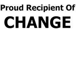 PROUD RECIPIENT OF CHANGE