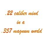 .22 Caliber Mind....